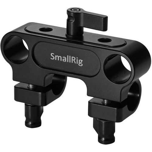 SmallRig 90° Double-to-Single 15mm Rod Clamp