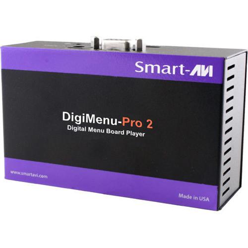 Smart-AVI DigiMenu-Pro 2 Player with 16GB Flash Memory and SaviMenu Manager Software