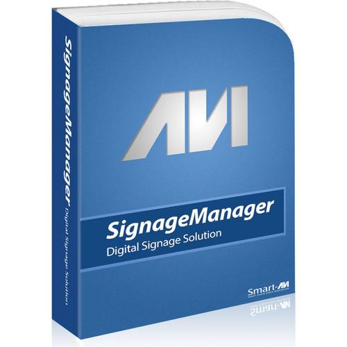 Smart-AVI SignWall Series Digital Signage Manager with USB Key