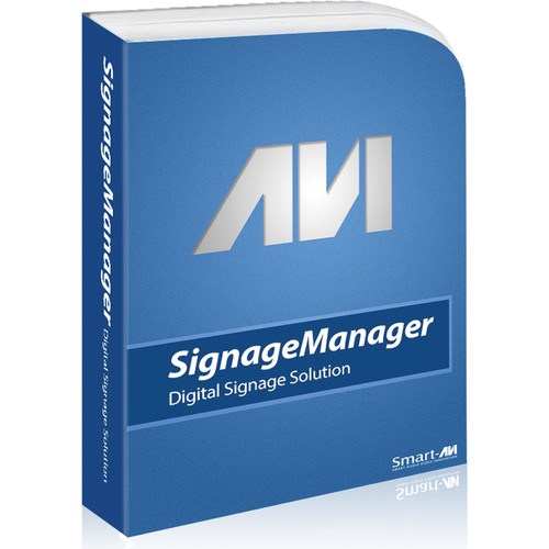 Smart-AVI SignWall Series Digital Signage Manager with USB Key