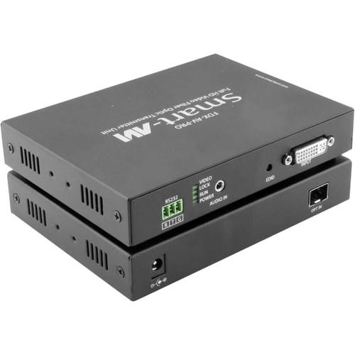 Smart-AVI Full HD DVI-D Fiber Optic Extender (Up to 6.2 Miles)