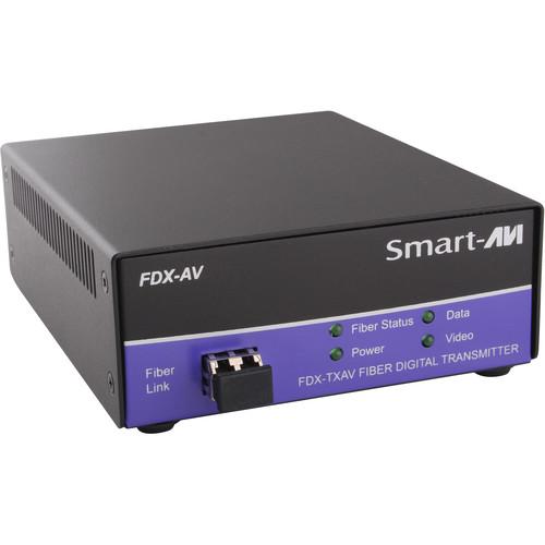 Smart-AVI FDX-TXAVS Digital Signage and Multimedia over Multimode Fiber Extender (Transmitter Only)