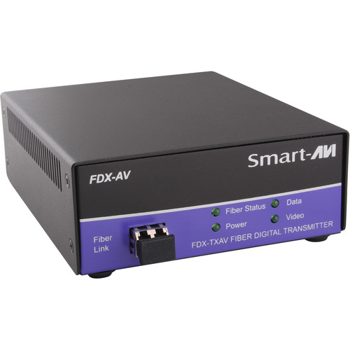Smart-AVI FDX-TXAVS Digital Signage and Multimedia over Multimode Fiber Extender (Transmitter Only)
