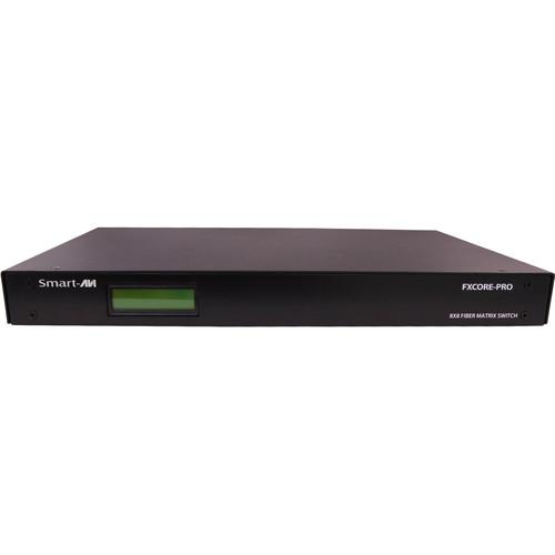 Smart-AVI FXCore-Pro Singlemode KVM Switch (8 PCs x 4 Users)