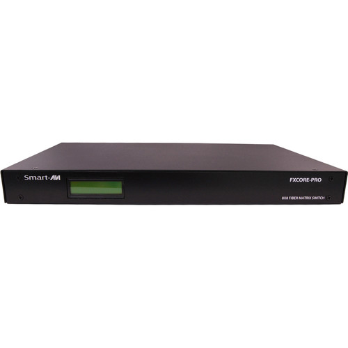 Smart-AVI FXCore-Pro Singlemode KVM Switch (12 PCs x 4 Users)