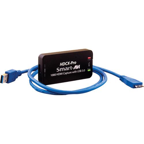 Smart-AVI HDCX-PRO Live HDMI Capture Adapter with USB 3.0 Output