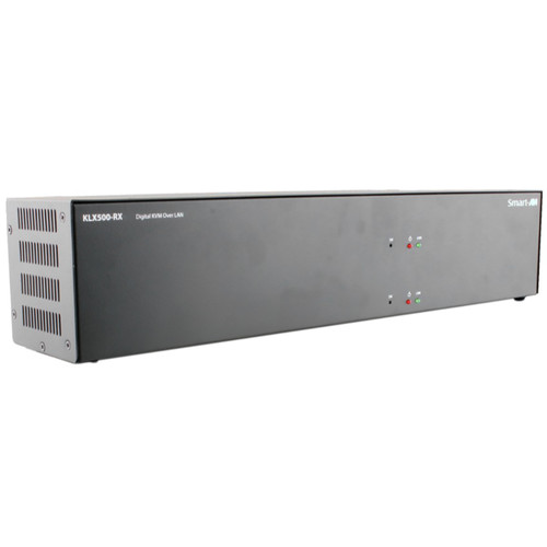 Smart-AVI KVM Extender Receiver over CATx with Dual DVI-D Inputs (Up to 500')