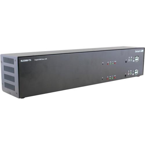 Smart-AVI KVM Extender Transmitter over CATx with Dual DVI-I Inputs & Dual DVI-D Outputs (Up to 500')