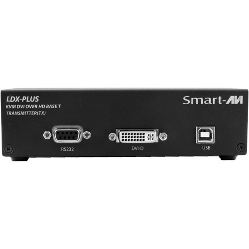 Smart-AVI LDX-Plus-TX Long-Range DVI-D, USB Keyboard and Mouse, RS-232, and Audio Extender (Transmitter Only)