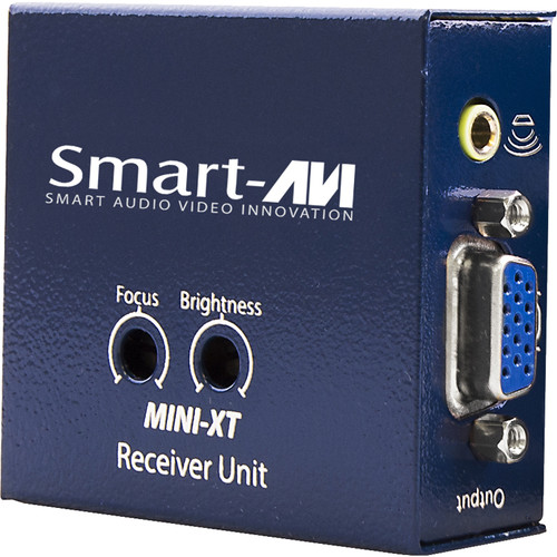 Smart-AVI Mini-XT-RXS VGA Extender w/ Audio Receiver over CAT5e/6