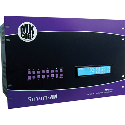 Smart-AVI MXCore-DX 8 x 32 DVI-D Matrix Switcher