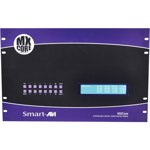 Smart-AVI MXC-HD16X08S 16 x 08 HDMI Matrix Switcher