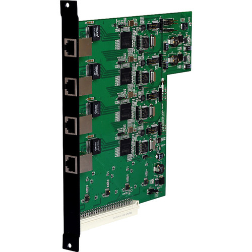 Smart-AVI MXC-UH-4O 4-Port HDBaseT Cat5e/6 Output Card for MXCore-UH HDMI Matrix