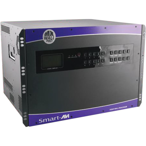 Smart-AVI 24x24 HDMI/DVI Matrix Wall with Integrated Video