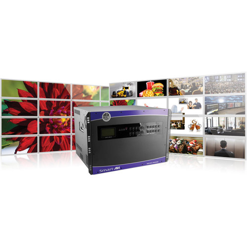 Smart-AVI 64X64 HDMI Matrix with Integrated Video Wall with  MxwallPro-6464