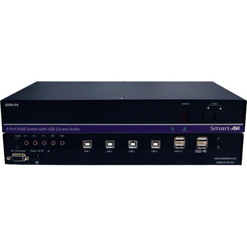 Smart-AVI SKM-04S 4-port KM Switch