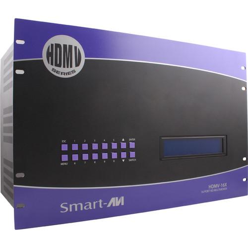 Smart-AVI HDMV-16X HD Multiviewer with 16 HDMI Inputs