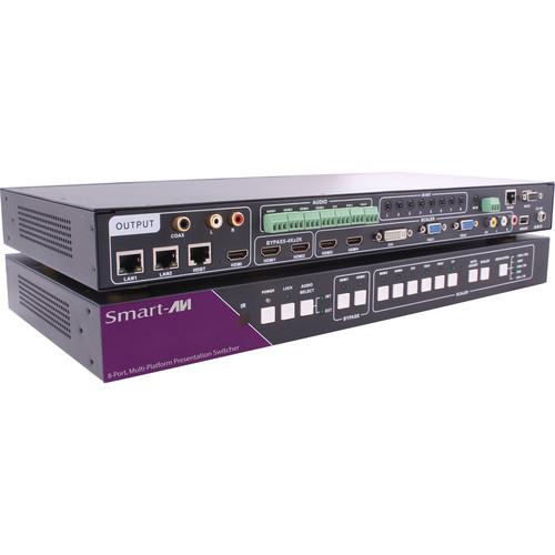 Smart-AVI SPS-1000S Eight-Port Multi-Platform Presentation Switcher