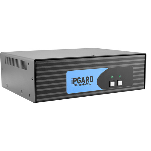 IPGard 2-Port SH Secure HDMI KVM Switch with Audio