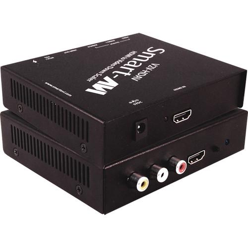 Smart-AVI V2V-HDAV HDMI to Composite RCA Downscaler with HDMI Loop Output