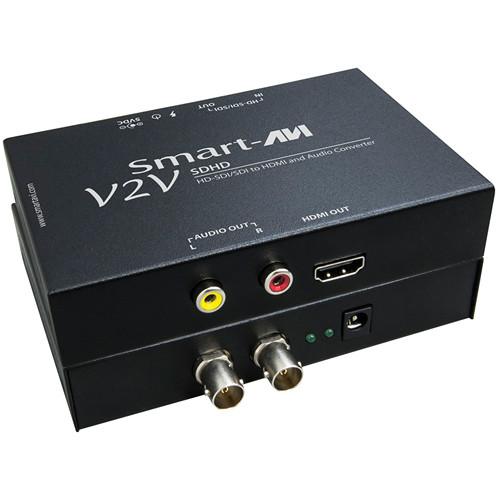 Smart-AVI V2V-SDHD HD-SDI/SDI to HDMI and Audio Converter