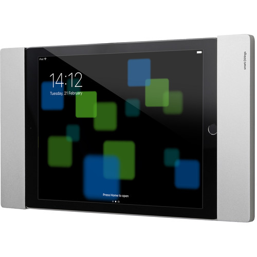 """smart things solutions sDock Fix Lockable Wall Mount for Select 9.7"""" iPads (Silver)"""