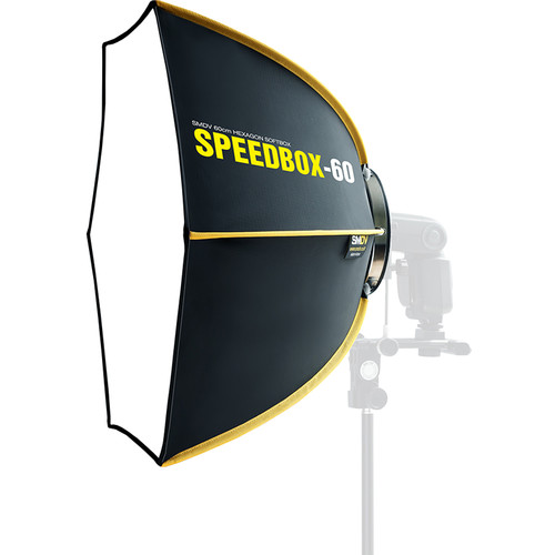 "SMDV SPEEDBOX S60 Hexagonal Softbox (24"")"