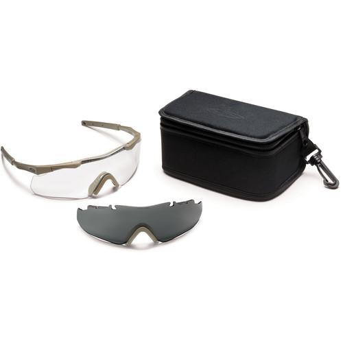 Smith Optics Aegis Arc Compact Protective Eyewear - Field Kit (Tan 499)