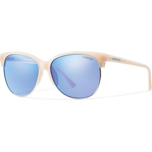 Smith Optics Rebel Sunglasses (Nude, Blue Flash Mirror)