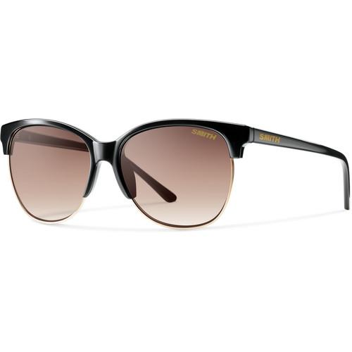 Smith Optics Women's Rebel Black Framed Sunglasses (Sienna Gradient Lenses)