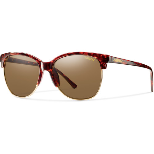 Smith Optics Women's Rebel Vintage Havana Framed Sunglasses (Polarized Brown Lenses)