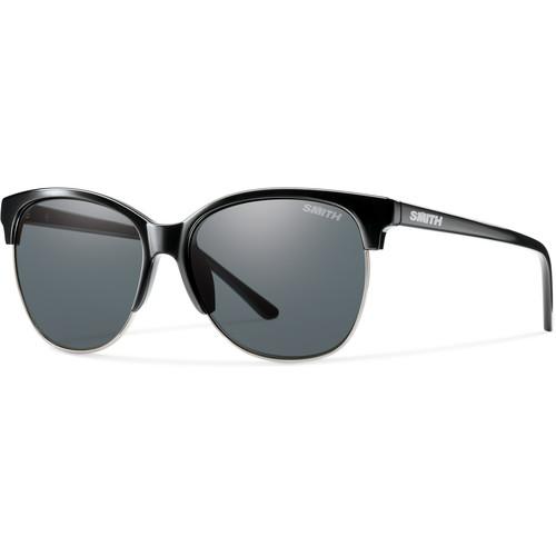 Smith Optics Rebel Sunglasses (Black, Polarized Gray)