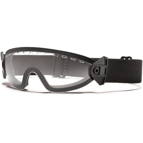 Smith Optics Boogie SOEP Special Operations Eyewear with Clear Lens (Black Frame)