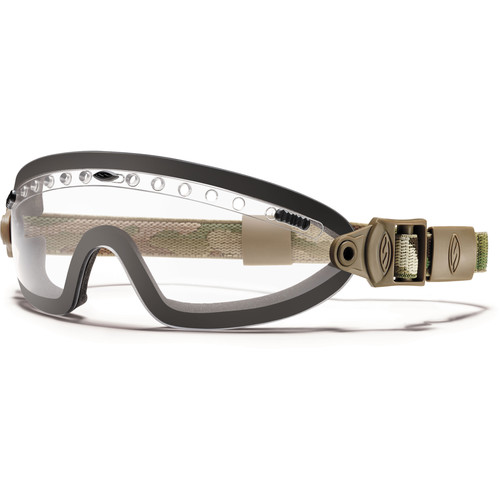 Smith Optics Boogie Sport Hybrid Goggle - (MultiCam Camouflage - Clear Lens - Asian Fit)
