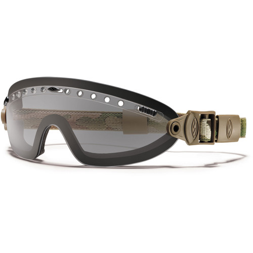 Smith Optics Boogie Sport Hybrid Goggle - (MultiCam Camouflage - Gray Lens - Asian Fit)
