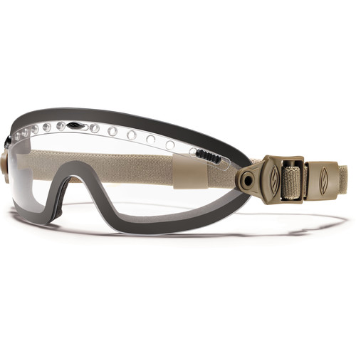 Smith Optics Boogie Sport Hybrid Goggle - (Tan 499 - Clear Lens)