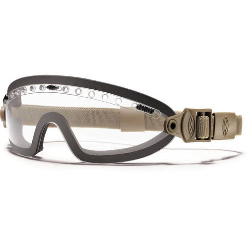 Smith Optics Boogie Sport Hybrid Goggle - (Tan 499 - Clear Lens - Asian Fit)