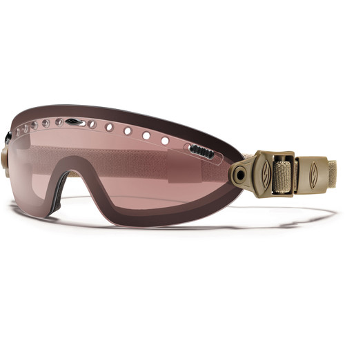 Smith Optics Boogie Sport Hybrid Goggle - (Tan 499 - Ignitor Mirror Lens - Asian Fit)