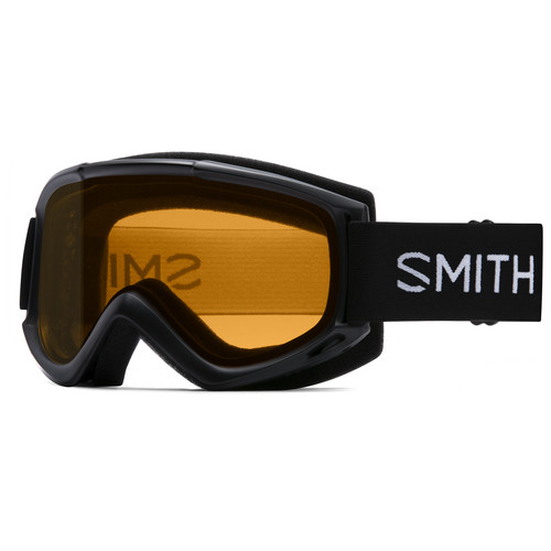 Smith Optics Medium-Fit Cascade Classic Snow Goggle (Black Frame, Gold Lite Lens)