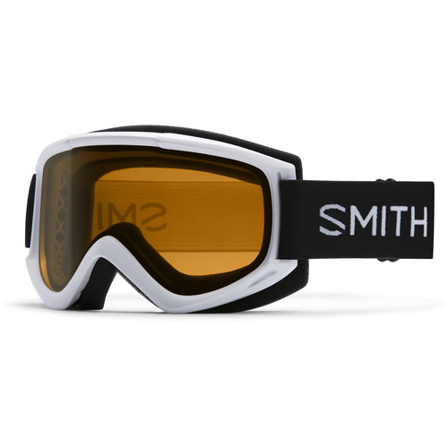 Smith Optics Medium-Fit Cascade Classic Snow Goggle (White Frame, Gold Lite Lens)