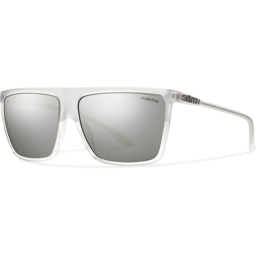 Smith Optics Cornice Sunglasses with Super Platinum Mirror Coated Lenses (Crystal Split Frames)