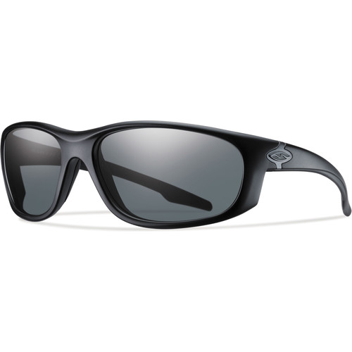 Smith Optics Chamber Elite Tactical Sunglasses (Black - Gray Lens)