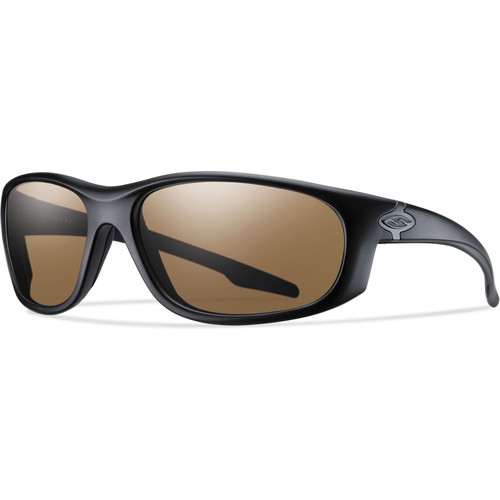 Smith Optics Chamber Elite Tactical Sunglasses (Black - Polarized Brown Lens)