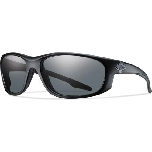 Smith Optics Chamber Elite Tactical Sunglasses (Black - Polarized Gray Lens)