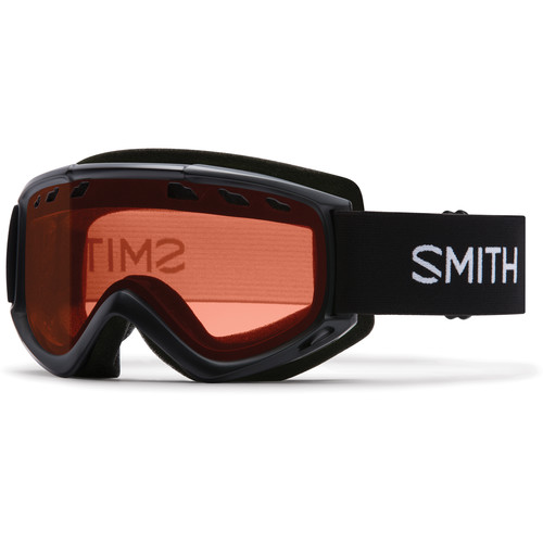 Smith Optics Medium-Fit Cascade Snow Goggle (Black Frame, RC36 Lens)