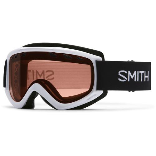 Smith Optics Medium-Fit Cascade Snow Goggle (White Frame, RC36 Lens)