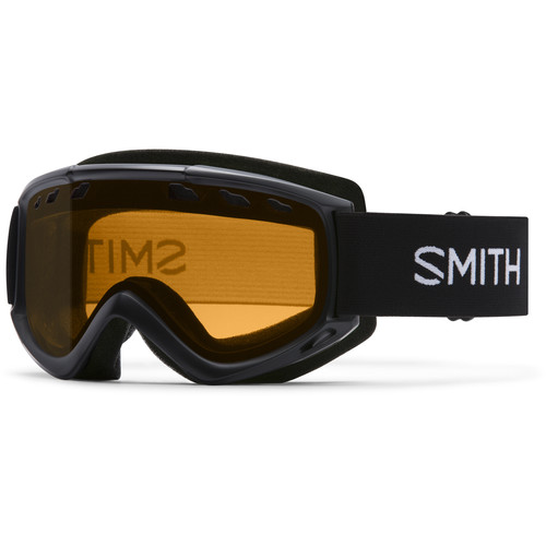 Smith Optics Medium-Fit Cascade Snow Goggle (Black Frame, Gold Lite Lens)