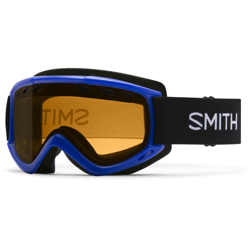 Smith Optics Medium-Fit Cascade Snow Goggle (Cobalt Frame, Gold Lite Lens)
