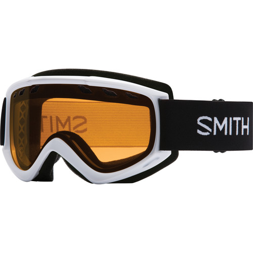 Smith Optics Medium-Fit Cascade Snow Goggle (White Frame, Gold Lite Lens)