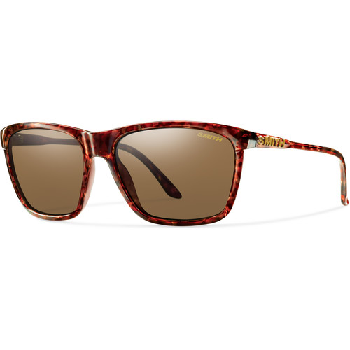Smith Optics Delano Sunglasses with Brown Lenses (Vintage Havana Frames)